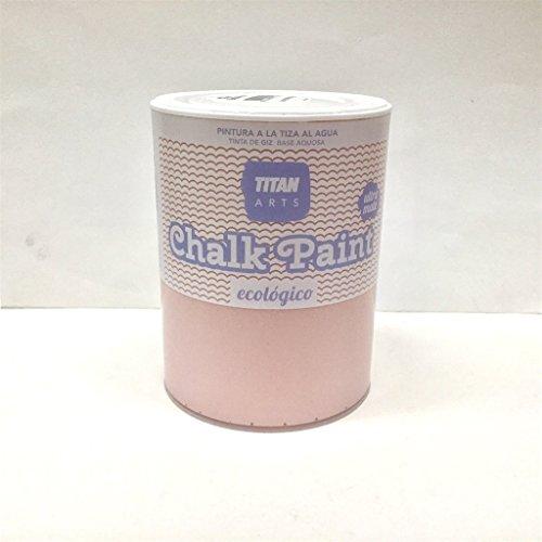 Chalk Paint Titan Pintura a la Tiza Ecológica 750 ml (210 Foxtrot Rosa)
