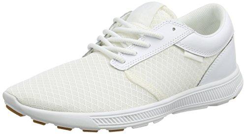 Supra Supra HAMMER RUN, Unisex-Erwachsene Sneaker, Weiß (WHITE - WHITE WHT), 38 EU (4.5 Erwachsene UK)
