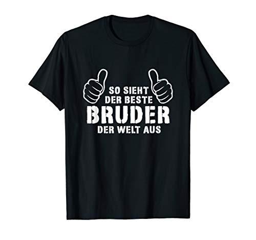 Herren Bester Bruder Der Welt - Geschenk Vatertag Geschenkideen T-Shirt