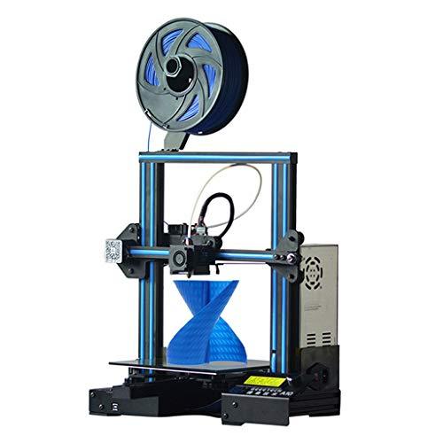DM-DYJ Home Imprimante 3D Quasi-Industrielle, A10 Installation Rapide Haute Précision Niveau Bureau Machine, Taille d'impression X/Y/Z: 220 X 220x260 Mm3
