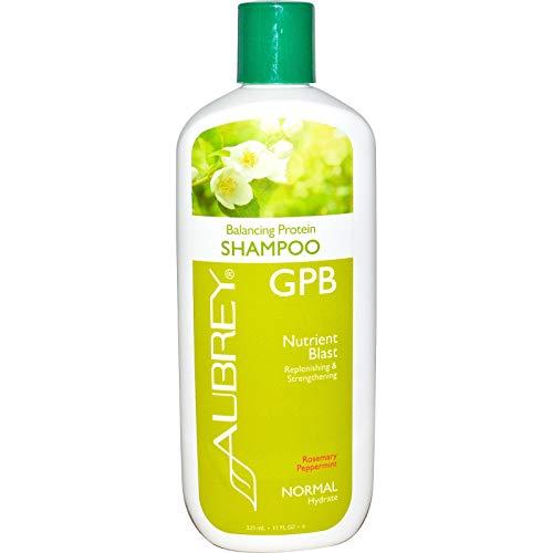 AUBREY Organics - KNALLRosemary Pfefferminz des Shampoo-ausgleichende Protein-GPB Nähr - 11 Unze, 200 g