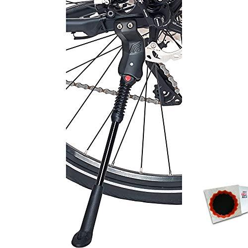 Hebie Hinterbauständer Fix 18 T Lochabstand 18mm schwarz +Flicken