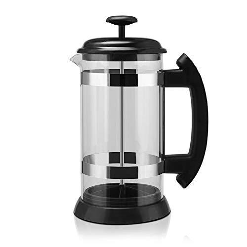 WUYANJUN Cafetera, Termo de Vidrio francés de Acero Inoxidable, Utilizado para Bebedero de café Hecho a Mano, Accesorios de Cocina para Tetera
