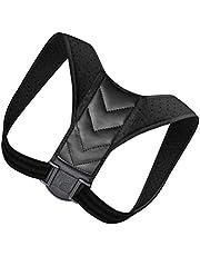 EXCEART Houding Corrector voor Vrouwen Mannen Houding Brace Verstelbare Rugstijltang Comfortabele Houding Trainer voor Spinale Uitlijning en Houding Ondersteuning M