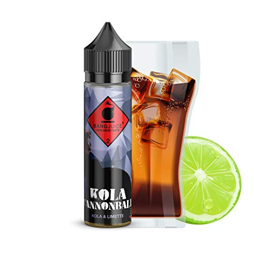 Bang Juice Aroma Kola Cannonball, Shake-and-Vape zum Mischen mit Base Liquid für E-Liquid, 20 ml