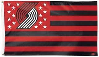 Wincraft Portland Blazers Trailblazers NBA American Flag 3 x 5 Foot