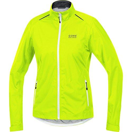 GORE WEAR Damen Element Lady Gore-TEX Active Jacke, Neon Gelb/Weiß/Schwarz, 34