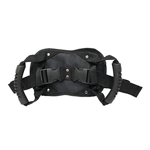 MOC Cinturones de seguridad ajustables para moto, vehículo eléctrico, bicicleta, protección de la vida, asidero para niños y pasajeros.