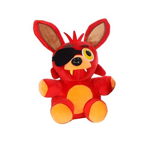 18cm FNAF Five Nights at Freddy's Phantom Foxy Plush Doll Stuffed Animal Plush Doll Toys Children Great Gifts Foxy