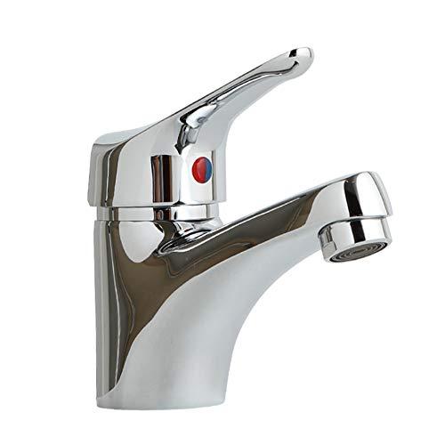 "KIPPEN 5061Z - Grifo monomando para lavabo de acero cromado""Serie Venere"" Cartucho 35 mm."