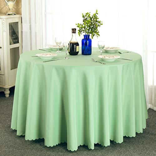 xiaopang Mantel de vinilo para mesa cuadrada de PVC, a prueba de aceite, impermeable, resistente a las manchas, a prueba de moho, 1,8 x 1,8 m