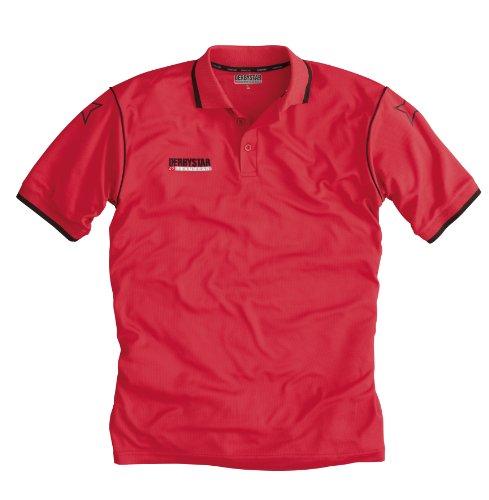 Derbystar, Polo Uomo, Rosso (Rot), XXS