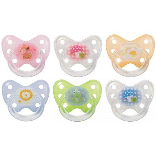 Dentistar Beruhigungsschnuller mit Ring für Babys bis zum 1.