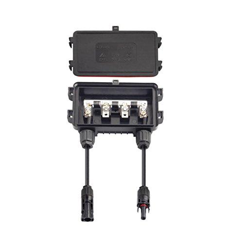 Solar Anschlussdose PV Stecker Mit 3 Dioden Für Solarpanel 100-180w 6A