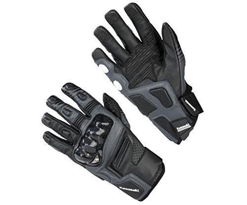 Kawasaki Racing Handschuhe Lederhandschuhe ! schwarz (3XL)