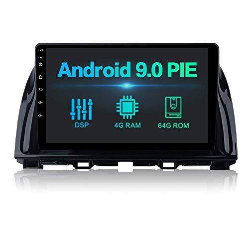 Reproductor multimedia para automóvil 10.2 pulgadas Android 10.0 Bluetooth Radio para automóvil Carplay incorporado para Mazda CX-5 CX5 2013-2015 Radio para automóvil con GPS 4G / 64G Soporte WiFi Da