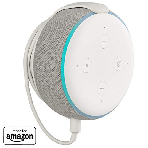Made for Amazon Mount for Echo Dot (3rd Gen) - White