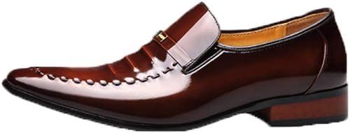 YCGCM Chaussures en Cuir pour Hommes, Robe Affaires