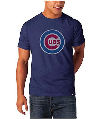 MLB Chicago Cubs Scrum Basic T-Shirt ('47 Brand) (Small)