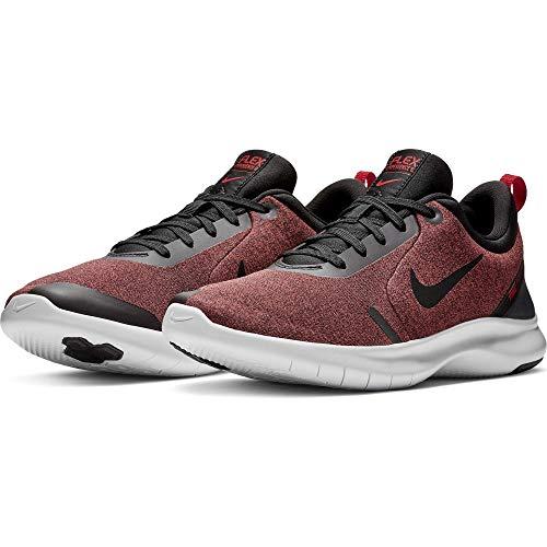 Preisvergleich Produktbild Nike Herren Flex Experience Run 8,  Schwarz / Schwarz-Universität Rot-Weiß,  45.5 EU