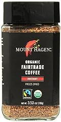 Mount Hagen Freeze Dried Instant Coffee- 3.53 Oz Jars- 2 Pack Mount Hagen Freeze Dried Instant Coffee- 3.53 Oz Jars- 2 Pack Mount Hagen Freeze Dried Instant Coffee- 3.53 Oz Jars- 2 Pack