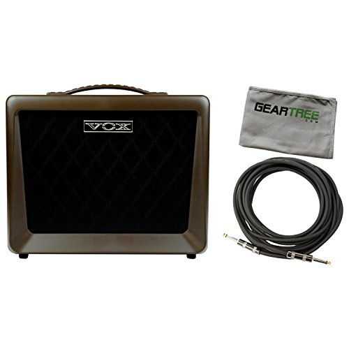 Vox VX50AG Acoustic Guitar Amplifier 50 Watts Two Channels w/Cable and Geartree