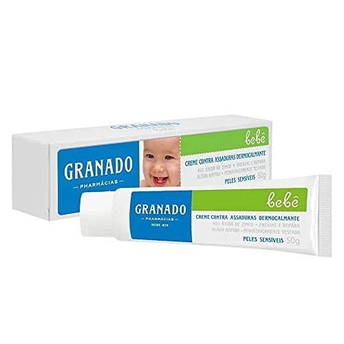 Creme Assaduras Dermocalmante Bebe Pele Sensíveis, Granado, 50G