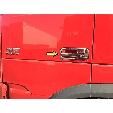 2 Set Polierter Edelstahl Tür Griff Panel Dekorationen Für Daf Xf 95 105 Trucks Auto