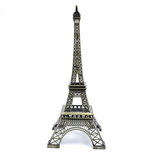 Yililay Torre Eiffel de París Estatua de Metal de la Torre Eiffel Modelo Figura Decorativa artesanía del Hierro