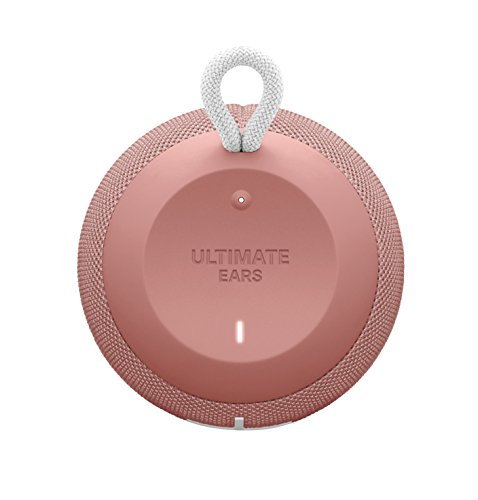 UE WONDERBOOM Super Portable Waterproof Bluetooth Speaker, Cashmere Pink