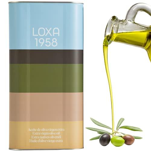 Loxa Olivenöl 5 Liter kaltgepresst - 0,5l / 2,5l / 5l. Natives Öl Extra aus Andalusien Spanien - Kanister. Oliven öl extra vergine. ( 5 L )