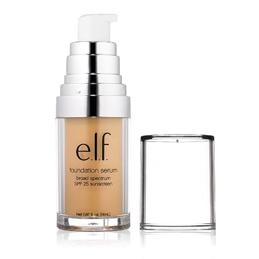 海藻畝間暗い(6 Pack) e.l.f. Beautifully Bare Foundation Serum - Light / Medium (並行輸入品)