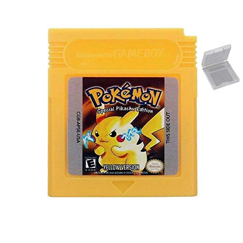 New Pokemon Yellow Version Game Cartridge Card For Nintendo GameBoy Color GameBoy Advance SP Reproduction Version
