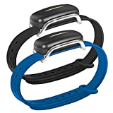 Silicone Band for Bond Touch Bracelet, Bond Touch Bands, Comfortable and Durable, Twilight Blue.