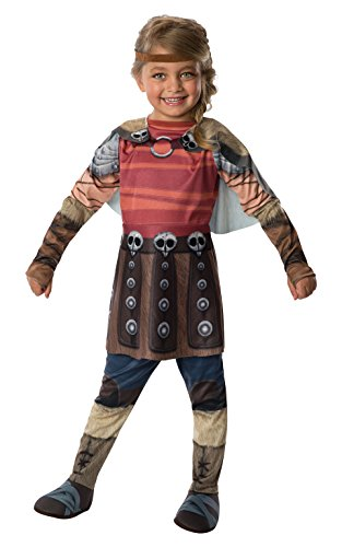 Rubies Officielle Dreamworks How to Train Your Dragon 2 Astrid, Enfant, Costume – Medium