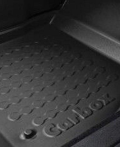 Auto Fußmatten Gummimatten Fußraumschale Beifahrerseite schwarz Hinweis beachten