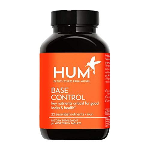 HUM Base Control - Daily Multivitamin & Mineral with B Complex, 22 Micro-Nutrients & Iron - Non-GMO,...