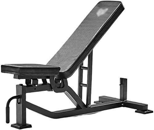 Candtong Sit-up Klappstuhl Multifunktions- Fitness Hantel 300 Kg Gewicht tragenden kippbaren/Flachkörperübung Heimfitnessübung Tisch Hocker