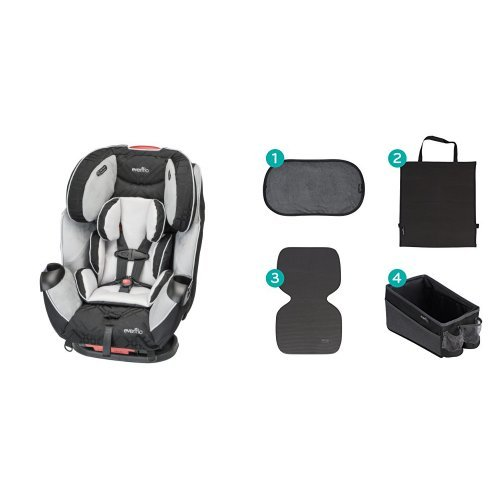 Why Should You Buy Evenflo Symphony LX Car Seat, Crete with Car Seat Accessory Kit