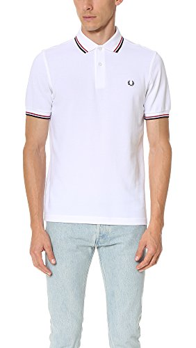 Fred Perry M3600 Polo, Blanc (White 748), X-Large Homme