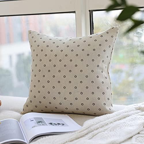 Las Fundas De Almohada Decorativas Impresas De Algodón Y Lino Son Adecuadas para La Sala De Estar, El Dormitorio, El Dormitorio, La Funda De Almohada para La Siesta, El Asiento,