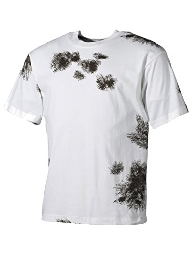 Militär a US Army T-shirt Bundeswehr hiver camouflage - - XS