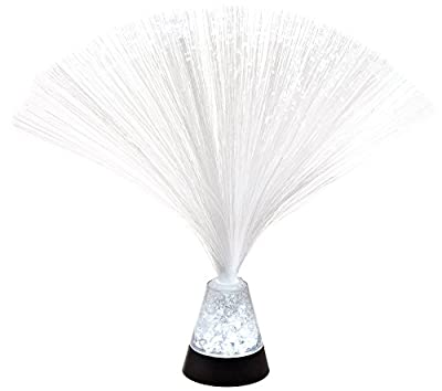 "Fortune Products FOL-325CRUSH-24 Crystal Crushed Fiber Optic LED Lamp, 3"" Base Width x 3.25"" Base Height, 9.75"" Tall (Pack of 24)"