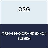 OSG エンドミル CBN-LN-SXB-R0.5X4X4 商品番号 8525654