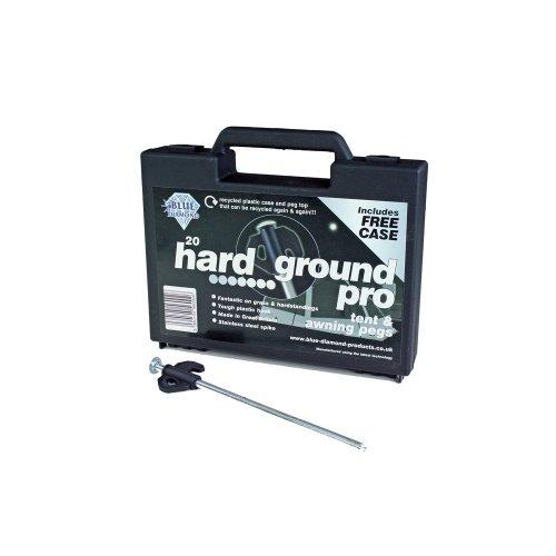 Blue Diamond Hard Ground Pegs