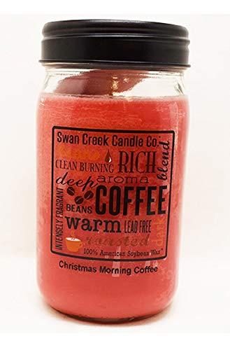 Swan Creek Candle Co. 24oz Christmas Morning Coffee 18353 Pantry Collection Jar
