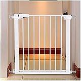 Barrera de Seguridad de Niños para Puertas y Escal Presión Fit Seguridad Puerta de metal Soportes de 78cm de altura El ancho se puede seleccionar de 63 a 201cm puerta for mascotas puerta del bebé con