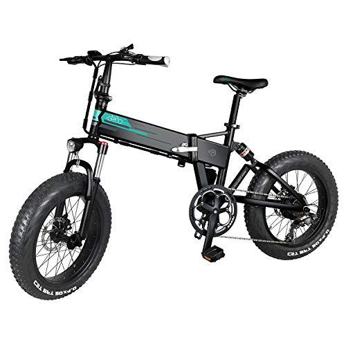 INOVIX Bicicleta Eléctrica Fiido M1 para Adultos, Siete Velocidades, Todoterreno, Motor De...