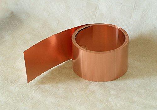 Kupferblech, 0,2 x 35 mm, 5 m Rolle