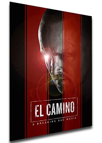 Instabuy Poster - Playbill - Film - El Camino - A Breaking Bad Movie Variant 01 Manifesto 70x50